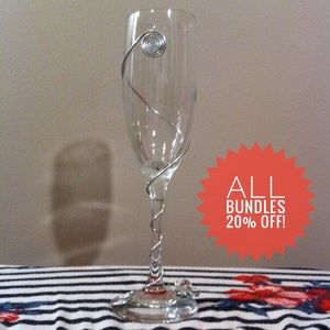 Other - Handcrafted Champagne Glass